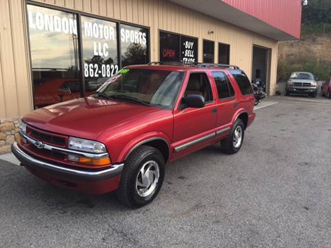 2000 Chevrolet Blazer for sale at London Motor Sports, LLC in London KY