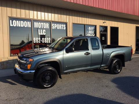 2007 Chevrolet Colorado for sale at London Motor Sports, LLC in London KY