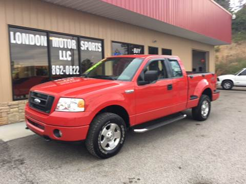 2006 Ford F-150 for sale at London Motor Sports, LLC in London KY