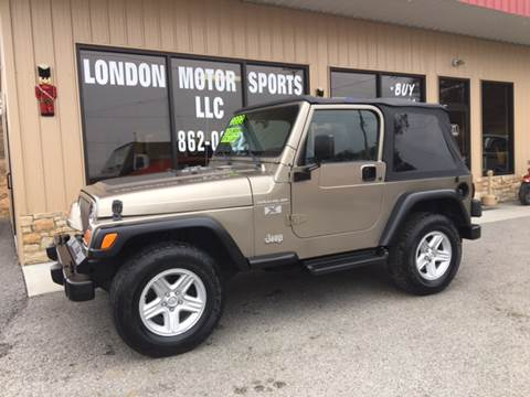 2002 Jeep Wrangler for sale at London Motor Sports, LLC in London KY