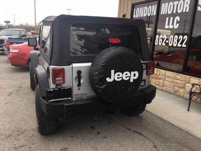 2007 Jeep Wrangler 4x4 X 2dr SUV - London KY