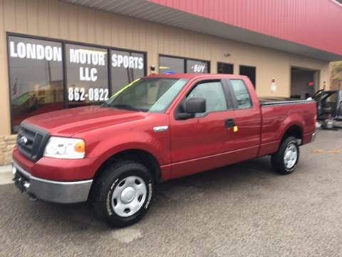 2008 Ford F-150 for sale at London Motor Sports, LLC in London KY