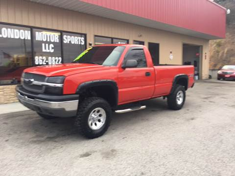 2004 Chevrolet Silverado 1500 for sale at London Motor Sports, LLC in London KY