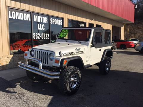 1998 Jeep Wrangler for sale at London Motor Sports, LLC in London KY