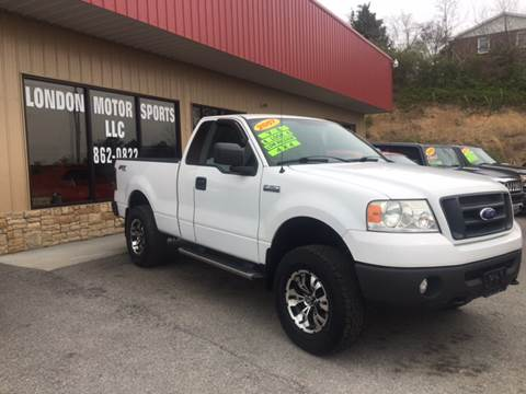 2007 Ford F-150 for sale at London Motor Sports, LLC in London KY