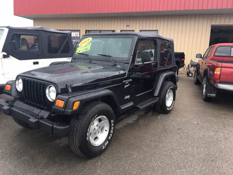 2001 Jeep Wrangler for sale at London Motor Sports, LLC in London KY