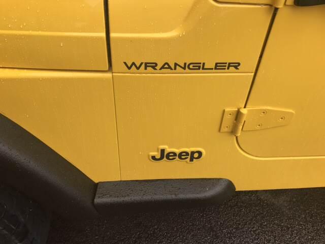 2001 Jeep Wrangler SE 4WD 2dr SUV - London KY