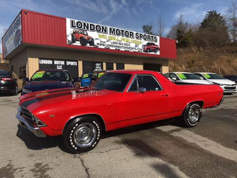 1969 Chevrolet El Camino for sale at London Motor Sports, LLC in London KY