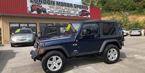 2006 Jeep Wrangler For Sale In London, KY