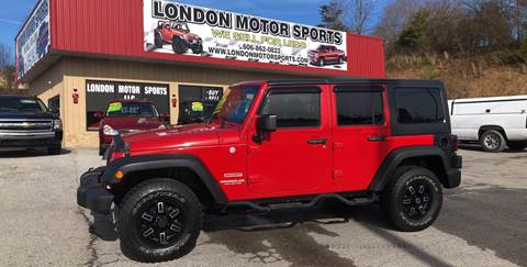 2011 Jeep Wrangler Unlimited for sale in London, KY