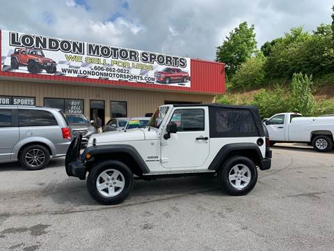 2010 Jeep Wrangler for sale in London, KY