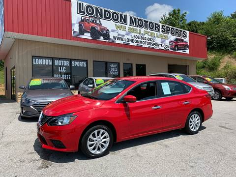 2018 Nissan Sentra for sale at London Motor Sports, LLC in London KY