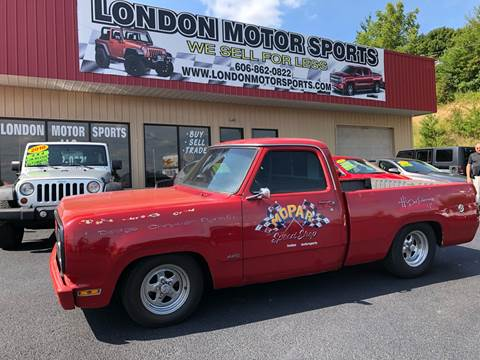 1980 Dodge D150 Pickup for sale in London, KY