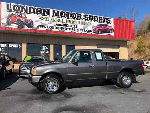 2009 Ford Ranger for sale at London Motor Sports, LLC in London KY