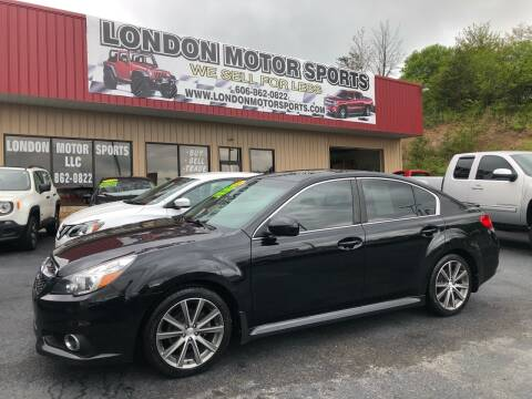 2014 Subaru Legacy for sale at London Motor Sports, LLC in London KY
