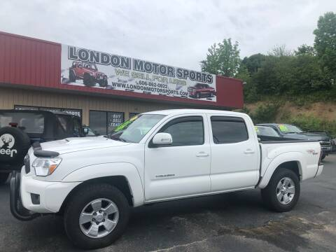 2013 Toyota Tacoma for sale at London Motor Sports, LLC in London KY