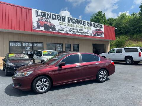 2013 Honda Accord for sale at London Motor Sports, LLC in London KY