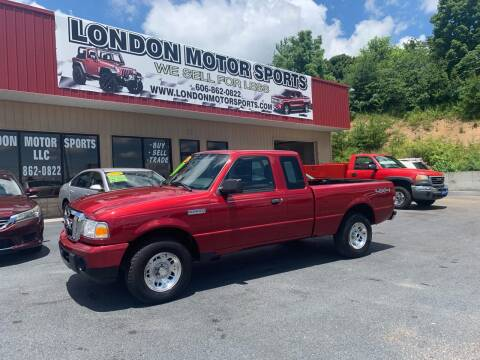 2010 Ford Ranger for sale at London Motor Sports, LLC in London KY