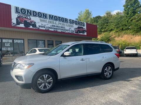 2019 Nissan Pathfinder for sale at London Motor Sports, LLC in London KY