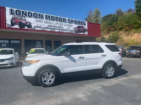 2014 Ford Explorer for sale at London Motor Sports, LLC in London KY
