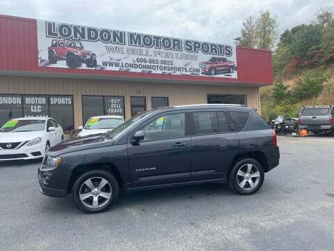 2016 Jeep Compass for sale at London Motor Sports, LLC in London KY