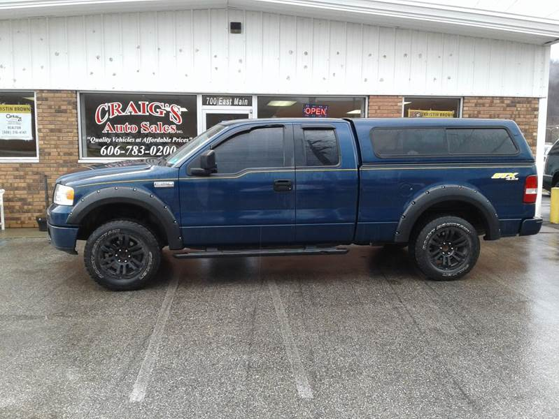 2007 Ford F 150 Stx 4dr Supercab 4wd Styleside 5 5 Ft Sb In