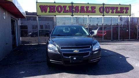 2009 Chevrolet Malibu for sale at LONG BROTHERS CAR COMPANY in Cleveland OH