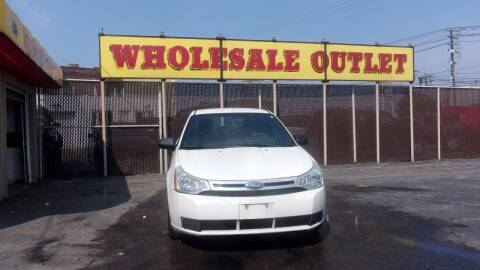 2010 Ford Focus for sale at LONG BROTHERS CAR COMPANY in Cleveland OH