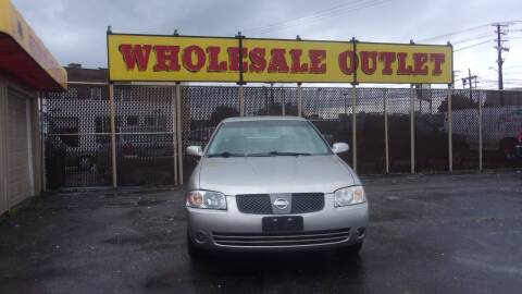 2006 Nissan Sentra for sale at LONG BROTHERS CAR COMPANY in Cleveland OH