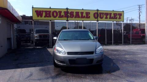 2008 Chevrolet Impala for sale at LONG BROTHERS CAR COMPANY in Cleveland OH