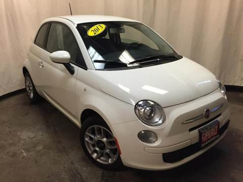 2013 FIAT 500 for sale in Waukegan IL