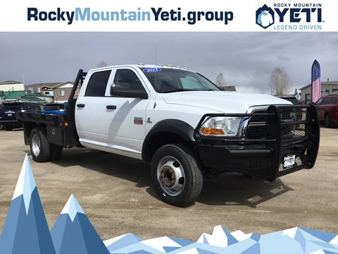 2011 RAM Ram Chassis 5500 for sale in Pinedale, WY