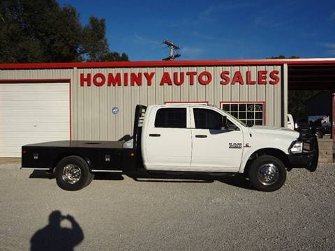 2015 RAM Ram Chassis 3500 for sale in Hominy, OK