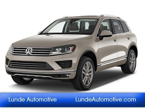 2016 Volkswagen Touareg for sale in Peoria, AZ