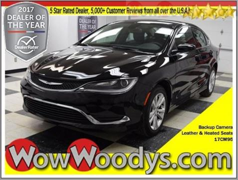 2017 Chrysler 200 for sale in Chillicothe, MO