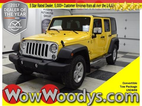 2015 Jeep Wrangler Unlimited for sale in Chillicothe, MO