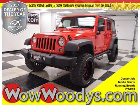 2017 Jeep Wrangler Unlimited for sale in Chillicothe, MO