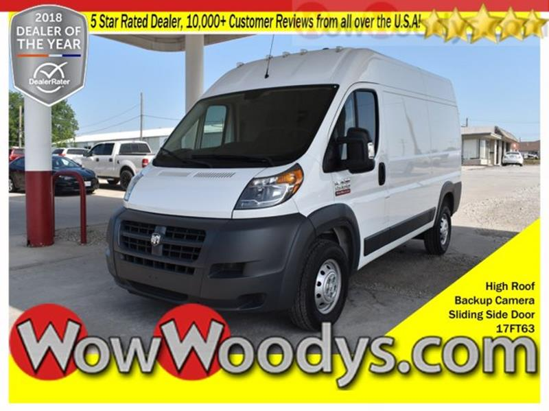 0232571c02 2017 RAM ProMaster Cargo 1500 136 WB 3dr High Roof Cargo Van - Chillicothe  MO