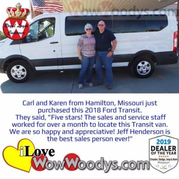 2018 Ford Transit Passenger  - Chillicothe MO