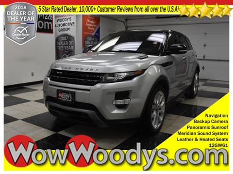 2012 Land Rover Range Rover Evoque for sale in Chillicothe, MO