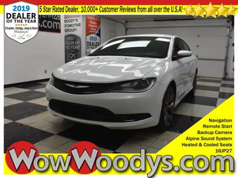 2016 Chrysler 200 for sale in Chillicothe, MO
