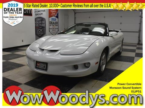 2001 Pontiac Firebird for sale in Chillicothe, MO
