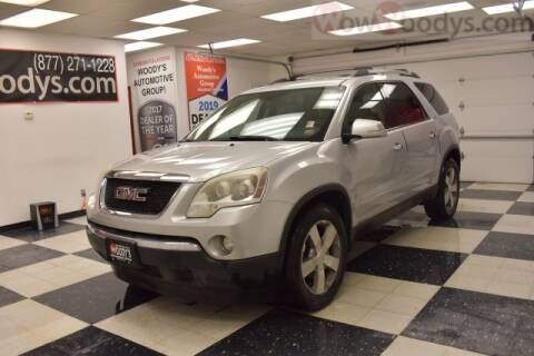 2011 GMC Acadia SLT-1 for sale at WOODY'S AUTOMOTIVE GROUP in Chillicothe MO