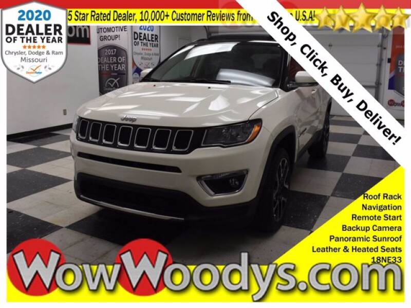 2018 Jeep Compass 4x4 Limited 4dr SUV - Chillicothe MO