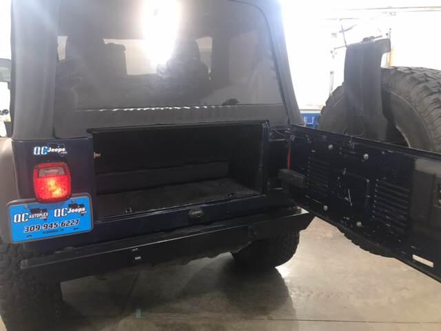 2003 Jeep Wrangler 2dr Sport 4WD SUV - Eldridge IA