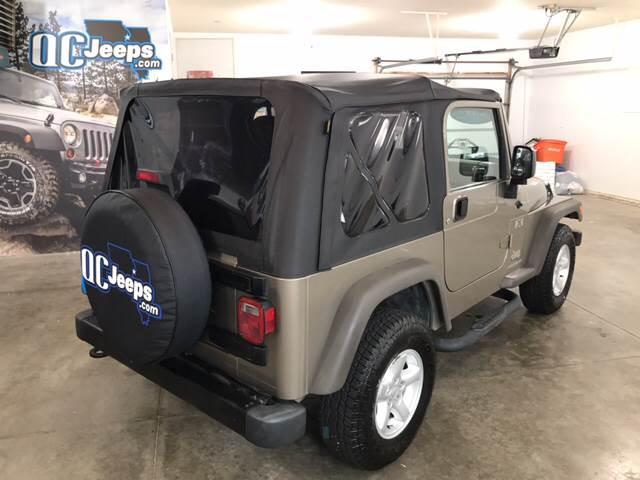 2005 Jeep Wrangler 2dr X 4WD SUV - Eldridge IA