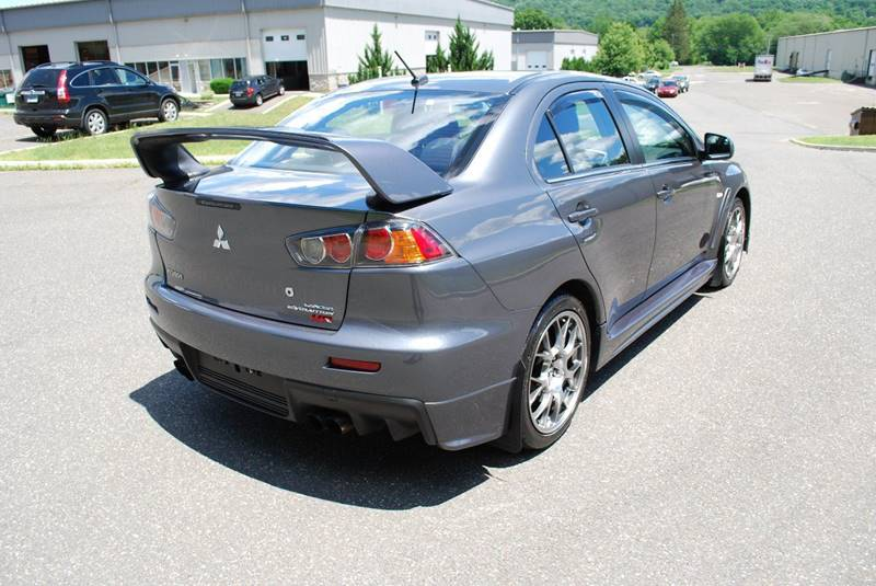 2010 Mitsubishi Lancer Evolution Awd Mr 4dr Sedan In New