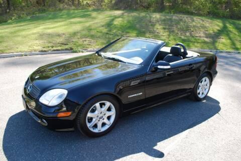 2001 Mercedes-Benz SLK SLK 230 for sale at New Milford Motors in New Milford CT