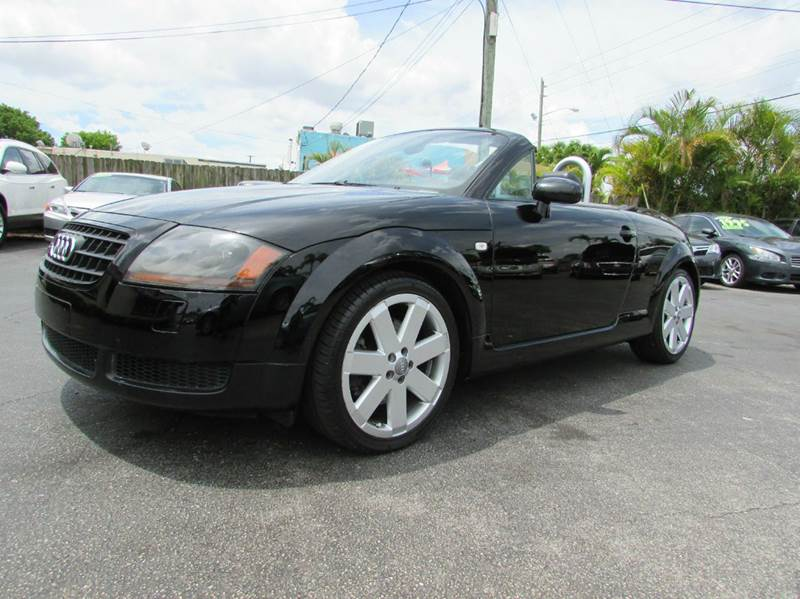 2005 Audi TT for sale at The Repo Store - 1616 South Military Trail Lot in West Palm Beach FL