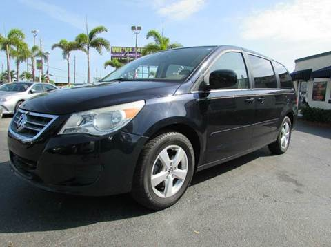 2010 Volkswagen Routan for sale at The Repo Store - 1616 South Military Trail Lot 2 in West Palm Beach FL